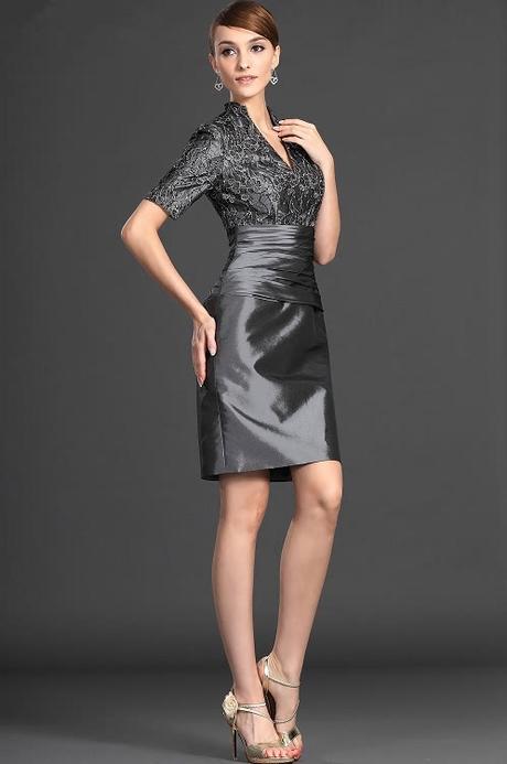 Krátke spoločenské šaty - veľ. 44 IHNEĎ - Obrázok č. 2