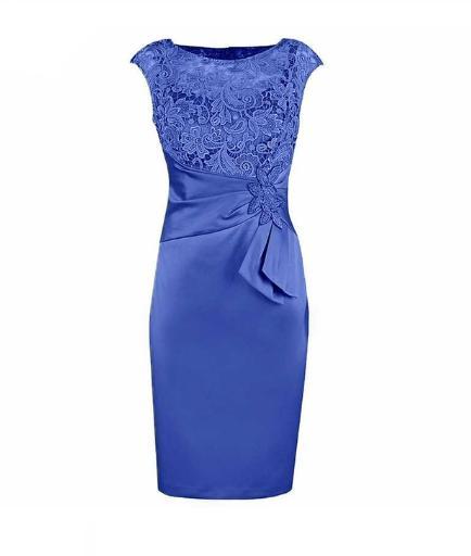 Krátke spoločenské šaty do veľkosti 52 - Obrázok č. 1