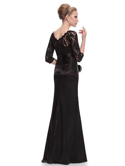 Dlhé spoločenské šaty do veľkosti 44 - Obrázok č. 2