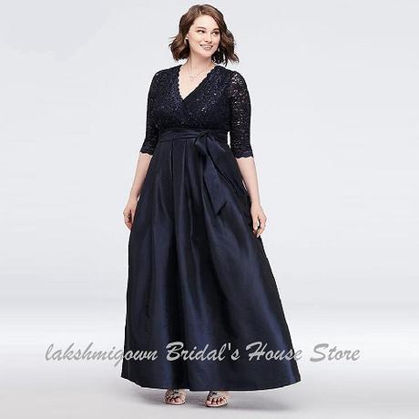 Dlhé spoločenské šaty pre MOLETKY do veľkosti 54 - Obrázok č. 1
