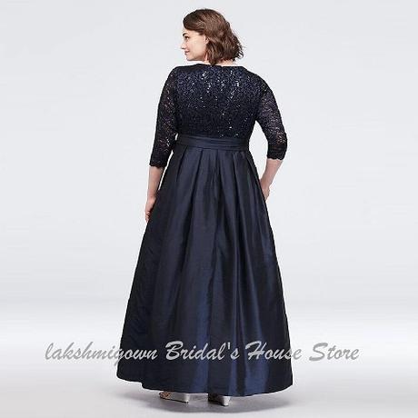 Dlhé spoločenské šaty pre MOLETKY do veľkosti 54 - Obrázok č. 2