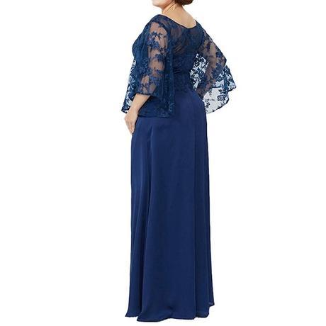 Spoločenské šaty pre MOLETKY - veľ. 56 - Obrázok č. 2