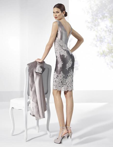 Krátke spoločenské šaty do veľkosti 56 ( 8048 ) - Obrázok č. 2