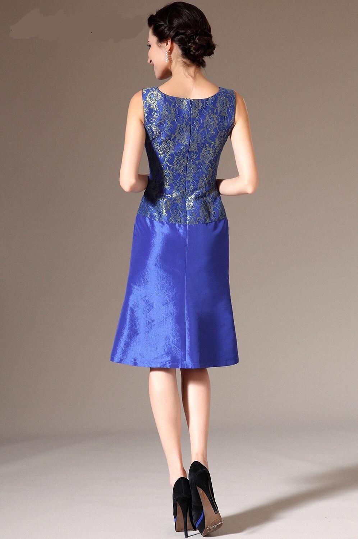 Krátke spoločenské šaty do veľkosti 54  ( 6531 ) - Obrázok č. 4