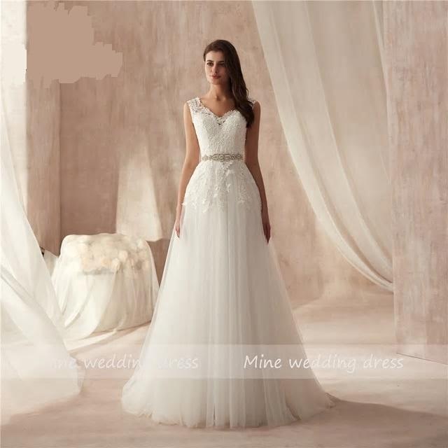 Svadobné šaty veľ. 48 - dodanie IHNEĎ - Obrázok č. 1