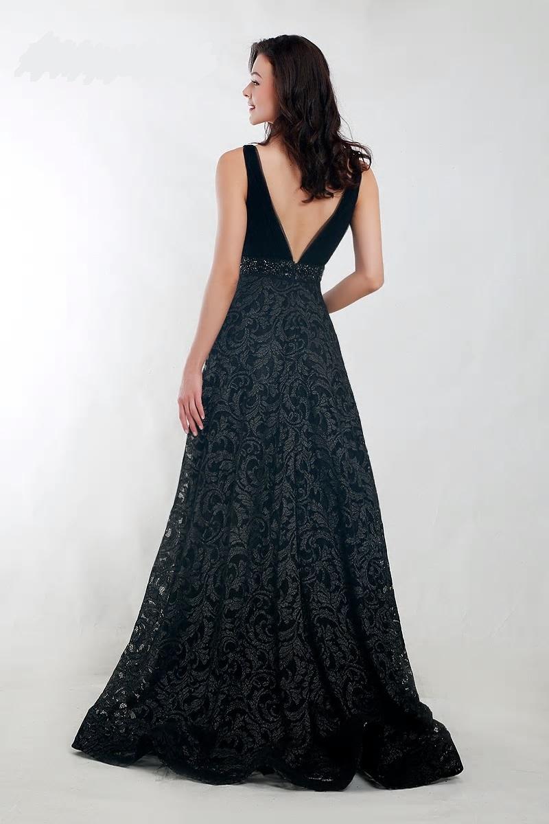 Spoločenské šaty do veľkosti 54  - Obrázok č. 2