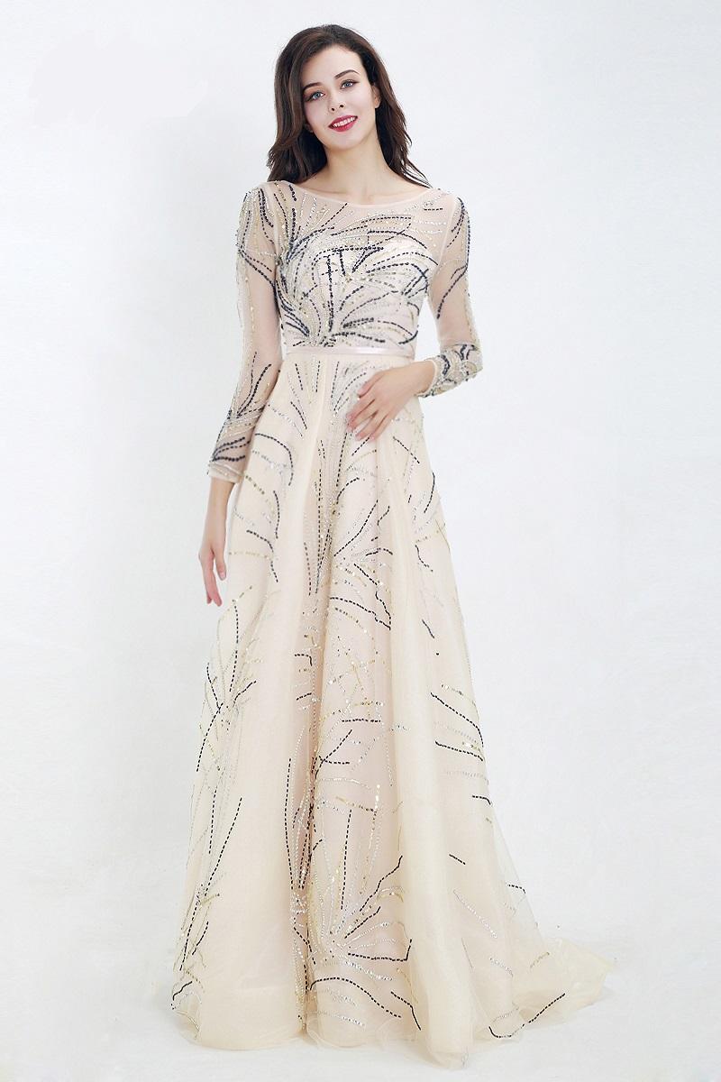 Spoločenské šaty do veľkosti 54  - Obrázok č. 4