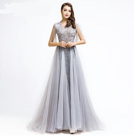 Spoločenské šaty do veľkosti 42 - Obrázok č. 1