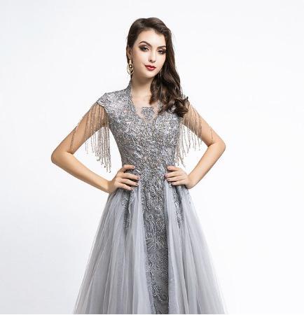 Spoločenské šaty do veľkosti 42 - Obrázok č. 4