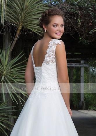 Svadobné šaty do veľkosti 52 - Obrázok č. 4