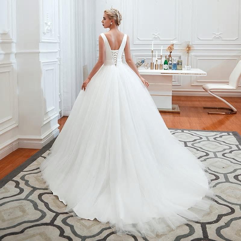 Svadobné šaty do veľkosti 58 - Obrázok č. 4