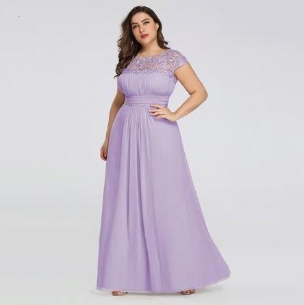 Dlhé spoločenské šaty do veľkosti 54 - Obrázok č. 1