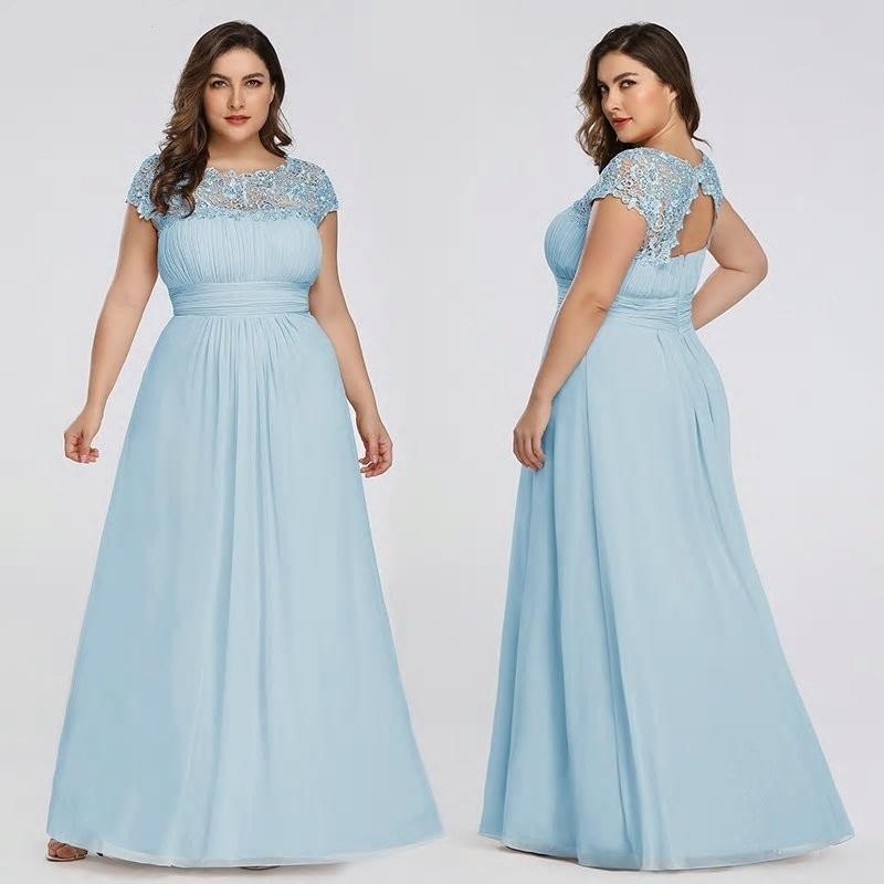 Dlhé spoločenské šaty do veľkosti 54 - Obrázok č. 2
