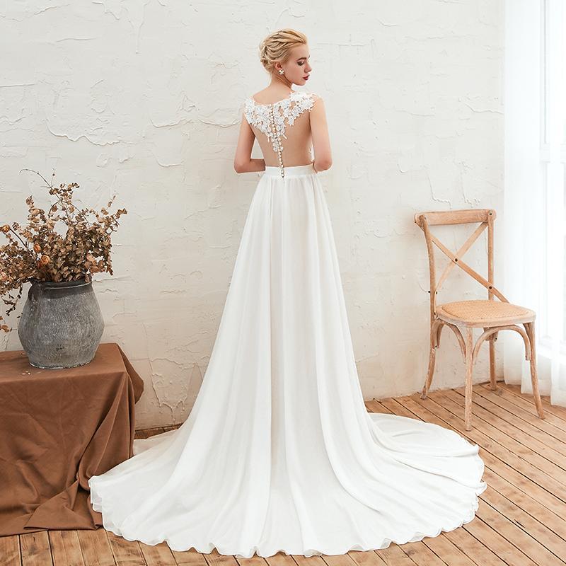 Svadobné šaty do veľksoti 56 - Obrázok č. 4