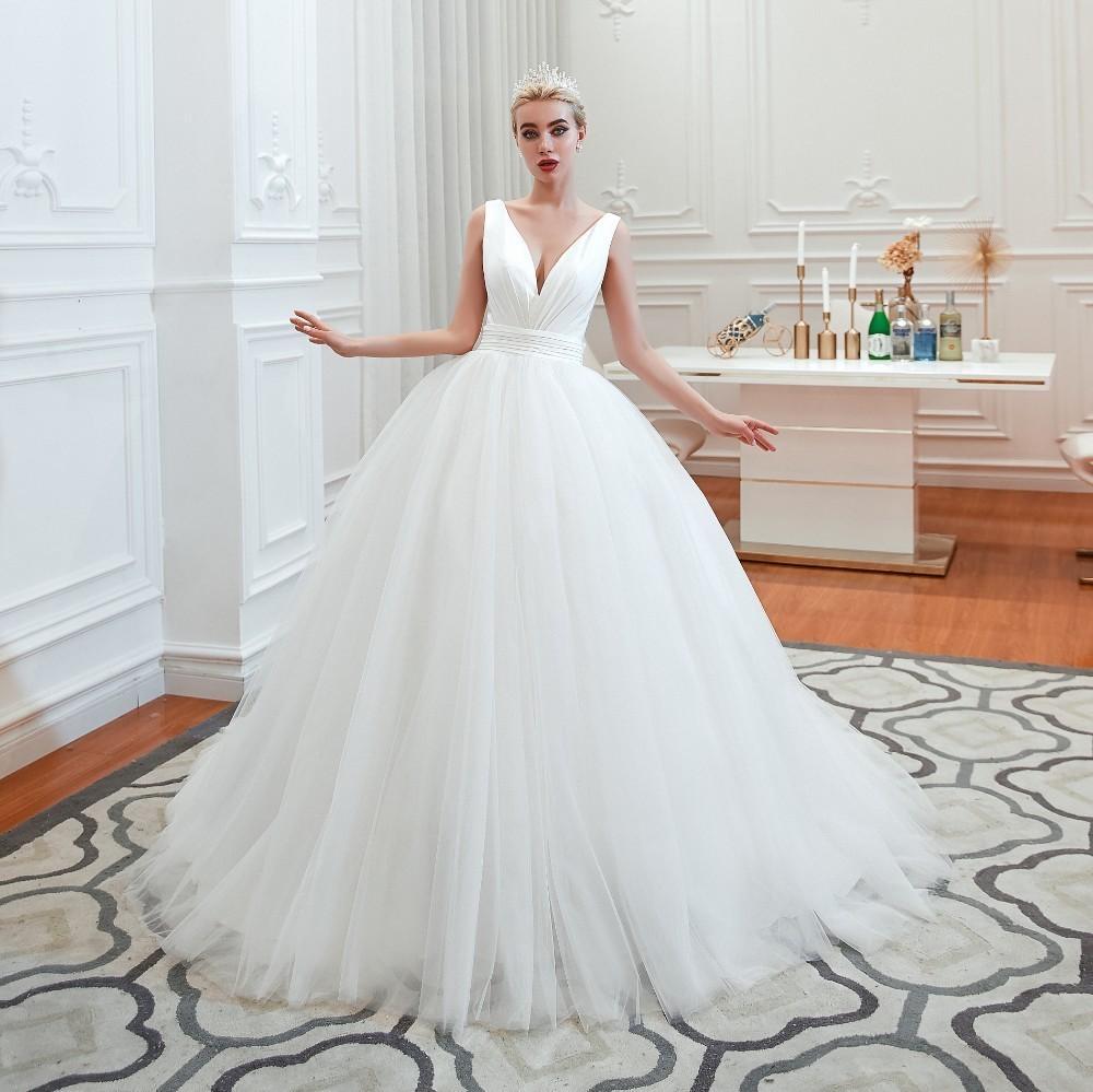Svadobné šaty do veľksoti 54 - Obrázok č. 1