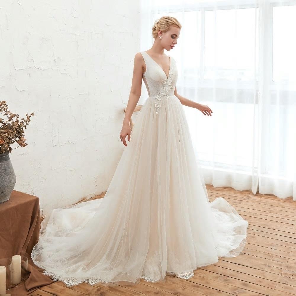 Svadobné šaty do veľksoti 54 - Obrázok č. 4