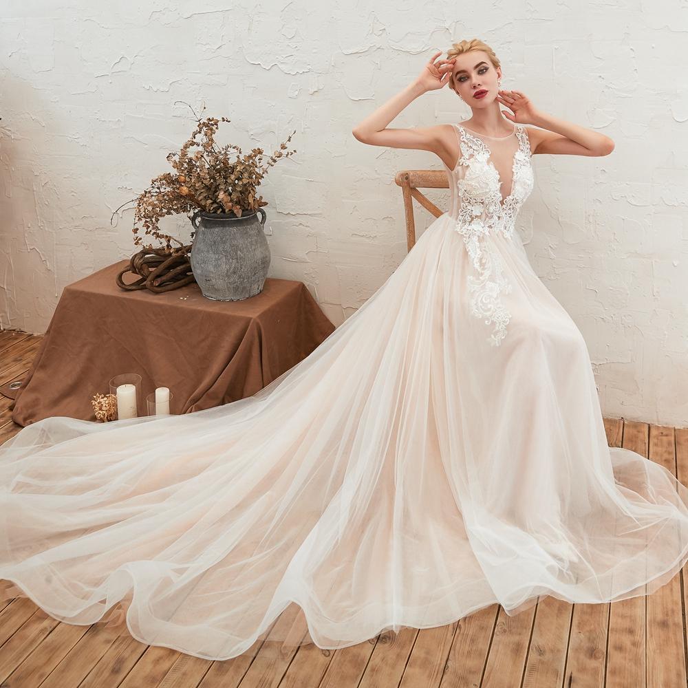Svadobné šaty do veľksoti 56 - Obrázok č. 2