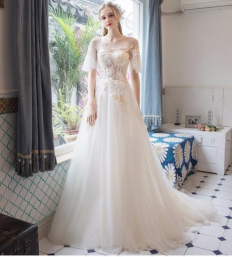 Svadobné šaty do veľkosti 44 - Obrázok č. 1