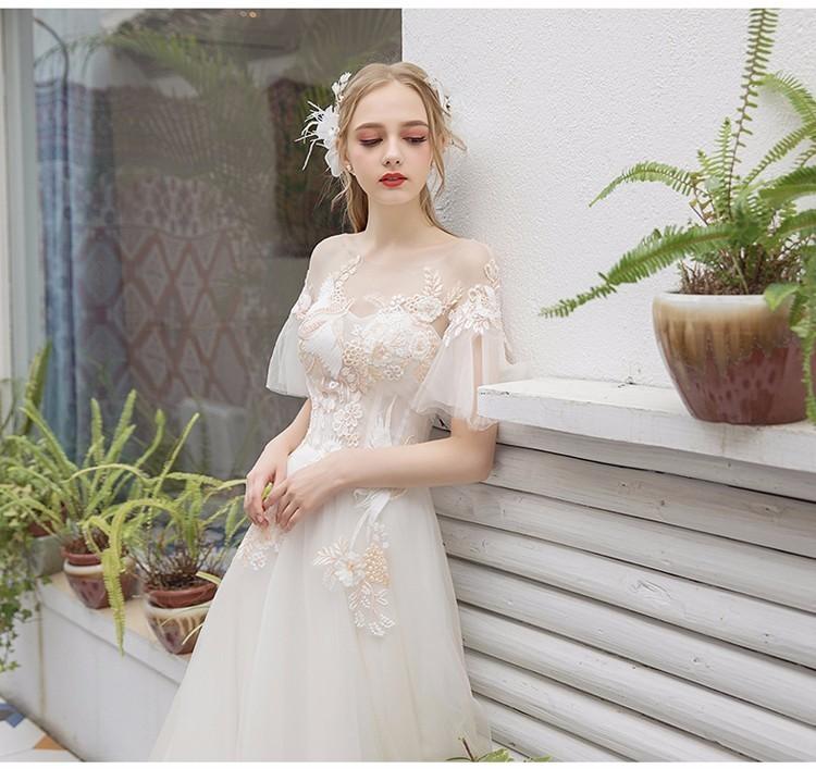 Svadobné šaty do veľkosti 44 - Obrázok č. 2