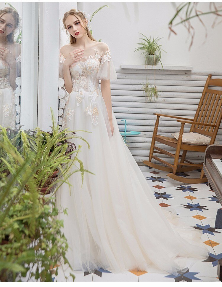 Svadobné šaty do veľkosti 44 - Obrázok č. 4