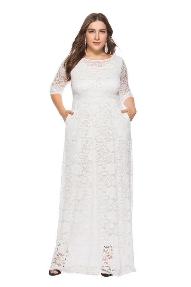 Spoločenské šaty - veľ. 48 dodanie IHNEĎ - Obrázok č. 2