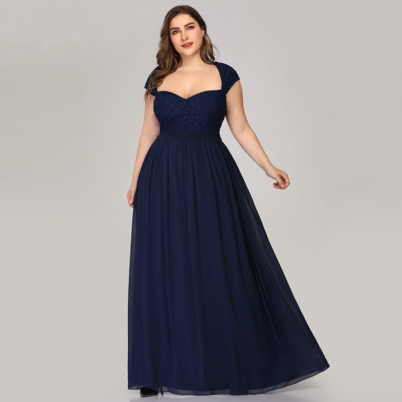 Spoločenské šaty - veľ. 44,46,48,50,52,54 - Obrázok č. 3