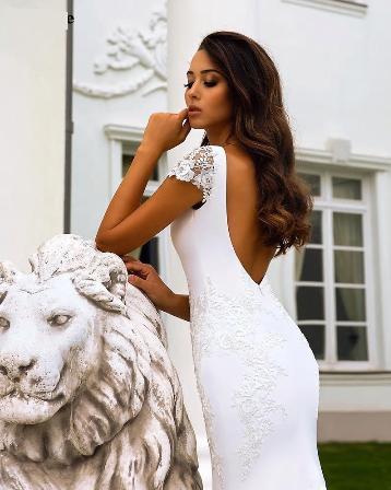 Svadobné šaty do veľkosti 50 - Obrázok č. 2