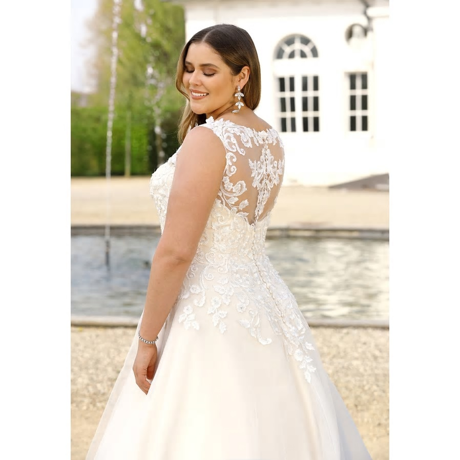 Svadobné šaty - veľ. 32 až 56 - Obrázok č. 2