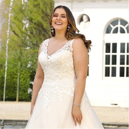 Svadobné šaty - veľ. 32 až 56 - Obrázok č. 3