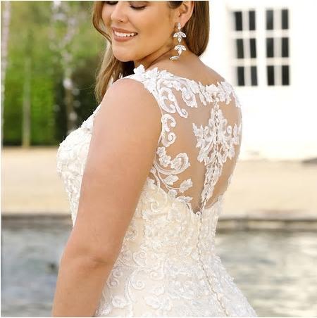 Svadobné šaty - veľ. 32 až 56 - Obrázok č. 4