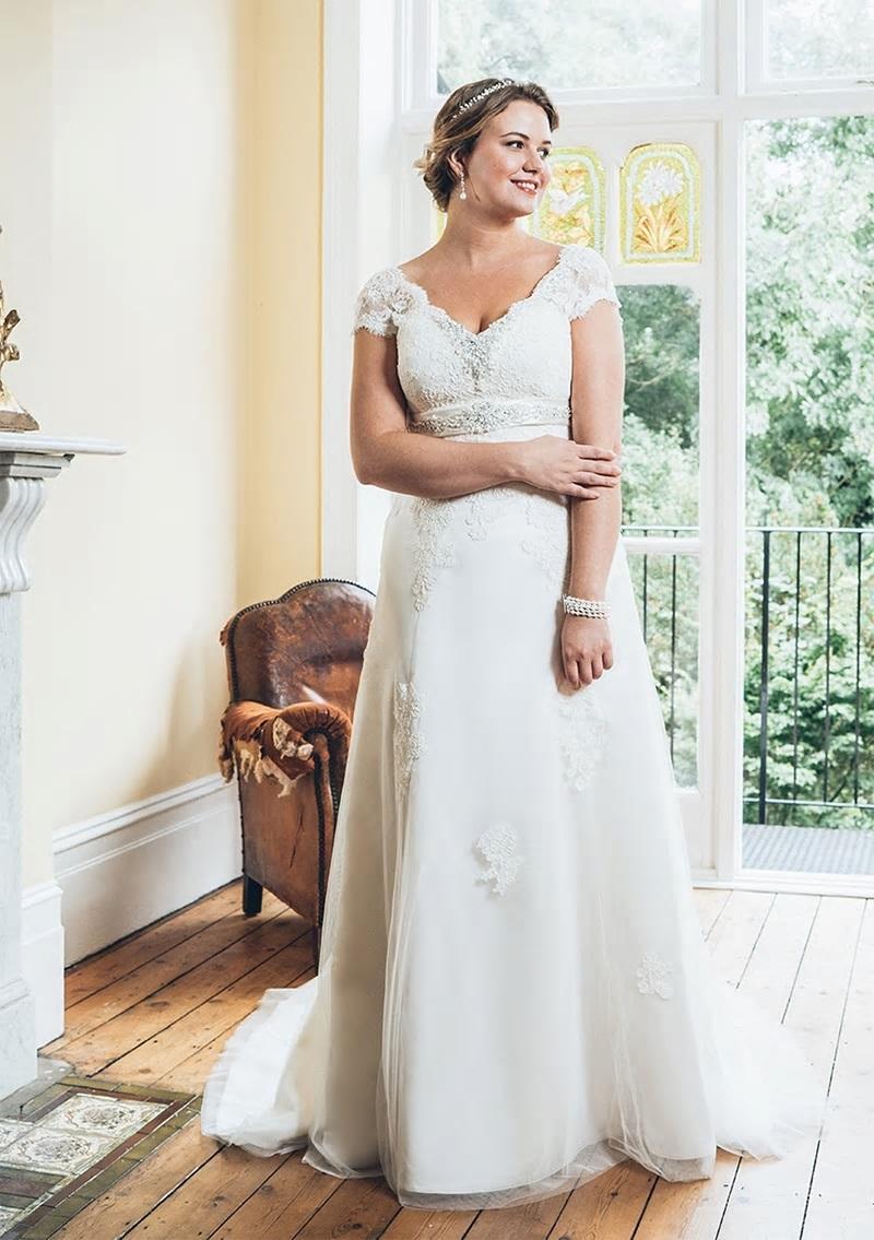 Svadbné šaty - veľ. 32 až 58 - Obrázok č. 2