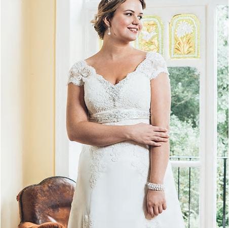 Svadbné šaty - veľ. 32 až 58 - Obrázok č. 4
