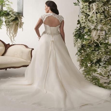 Svadobné šaty do veľkosti 58 - Obrázok č. 2