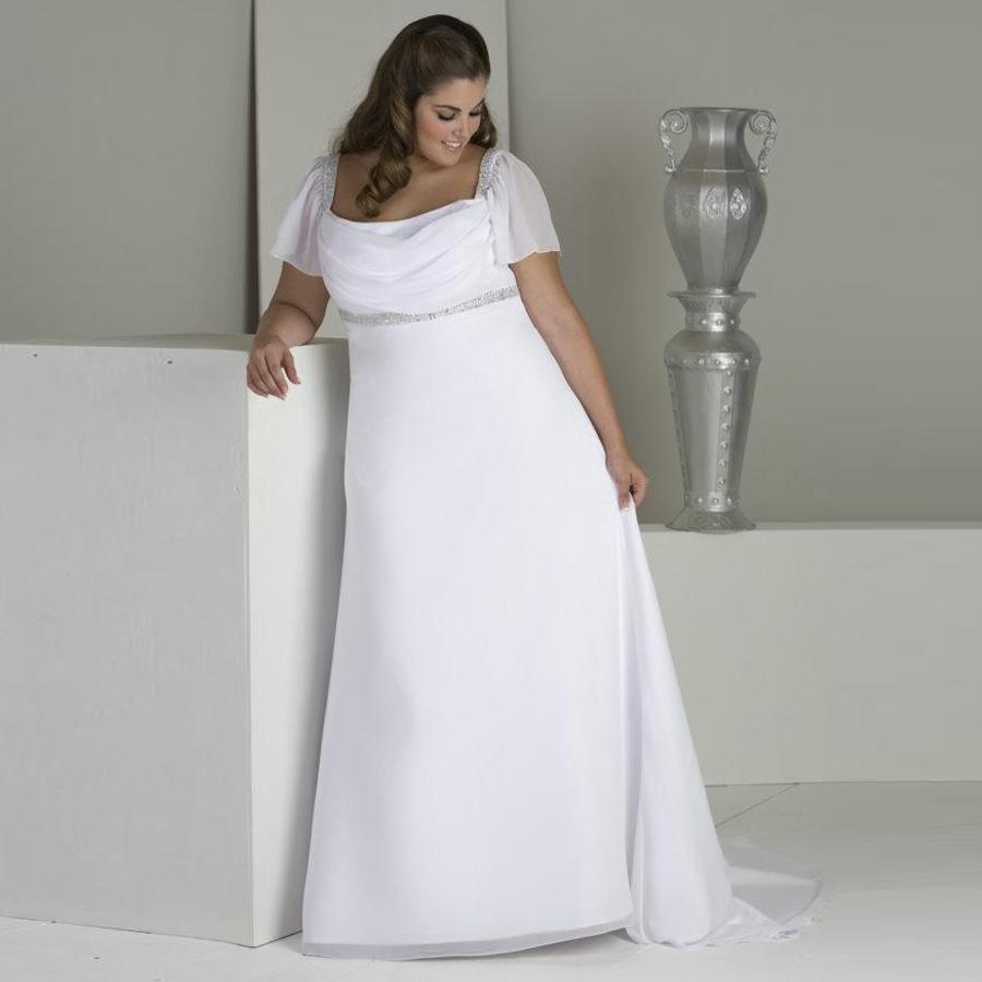 Svadobné šaty do veľkosti 58 - Obrázok č. 1