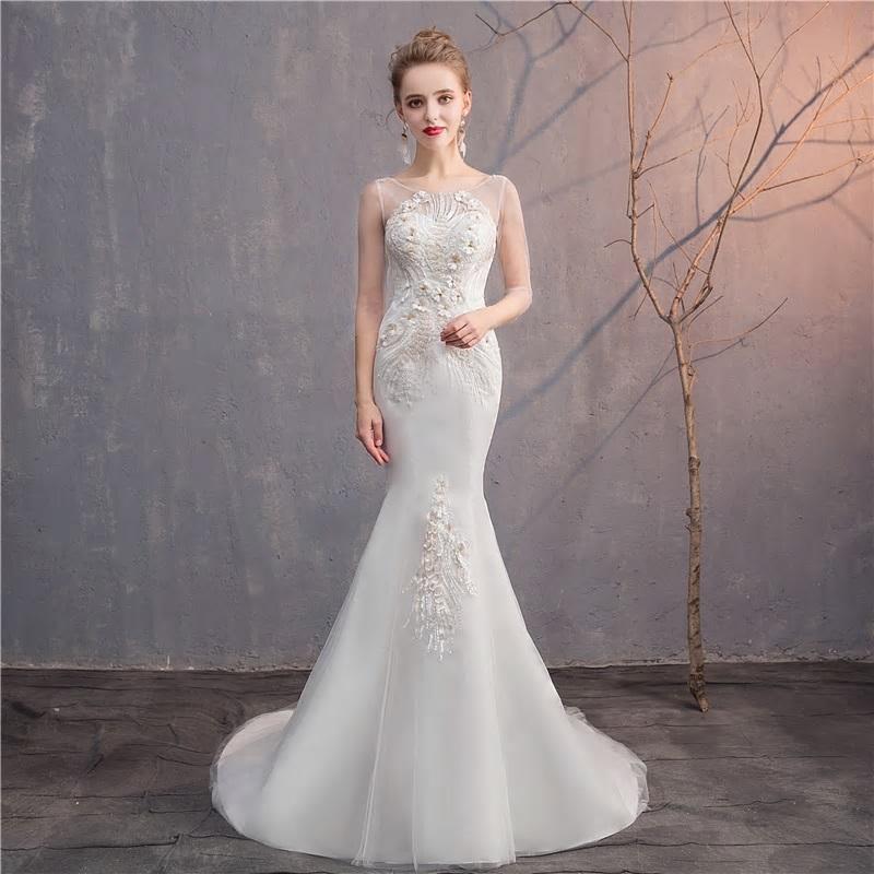 Svadobné šaty do veľkosti 48 - Obrázok č. 2
