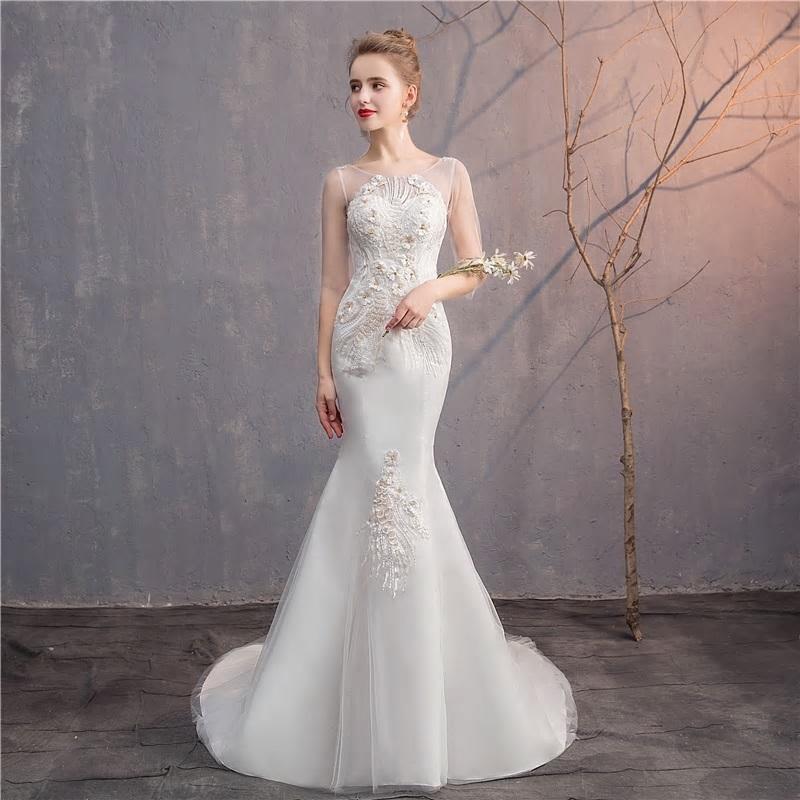 Svadobné šaty do veľkosti 48 - Obrázok č. 3