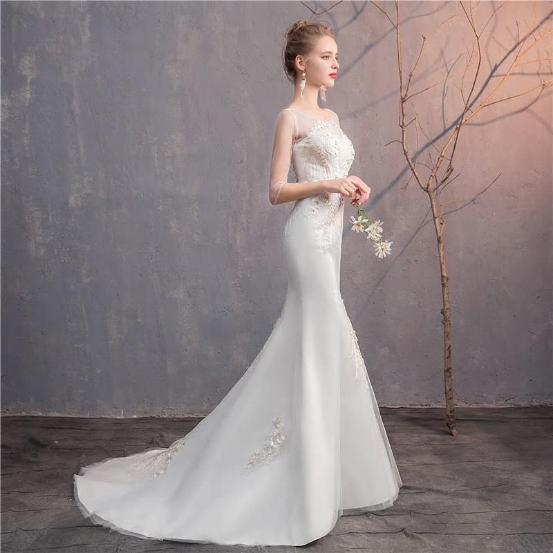 Svadobné šaty do veľkosti 48 - Obrázok č. 4