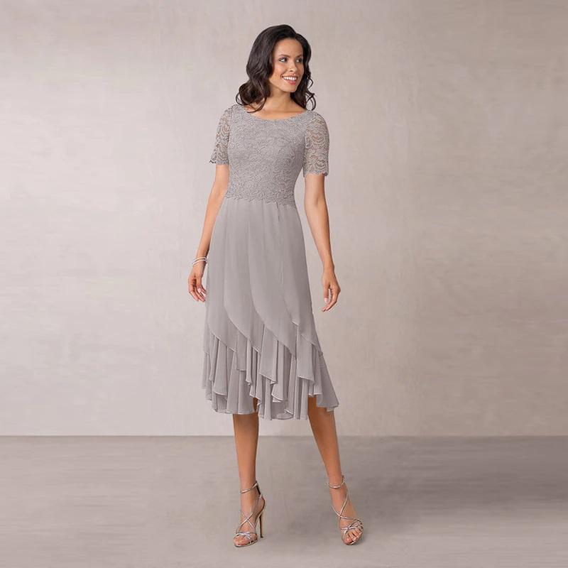 Krátke spol. šaty do veľkosti 56 - Obrázok č. 1
