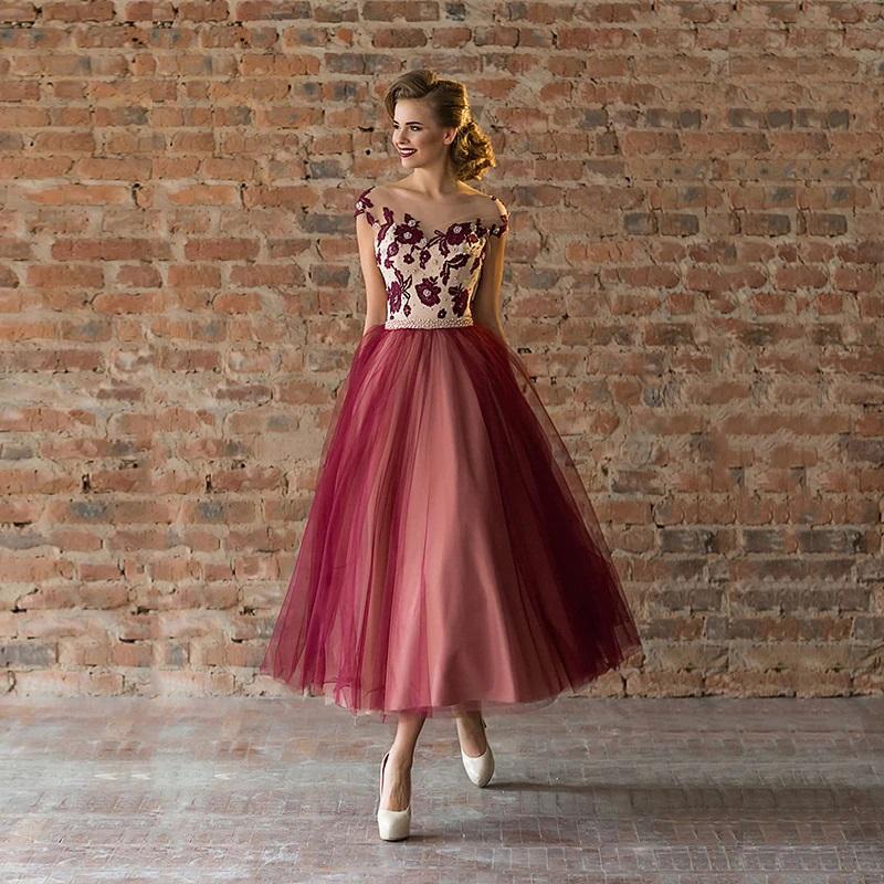 Midi spoločenské šaty do veľkosti 56 - Obrázok č. 1
