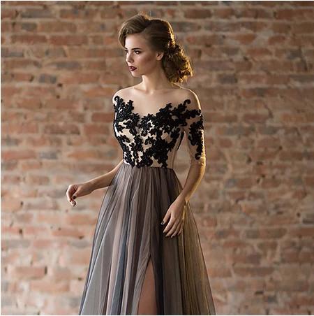 Spoločenské šaty do veľkosti 56 - Obrázok č. 4
