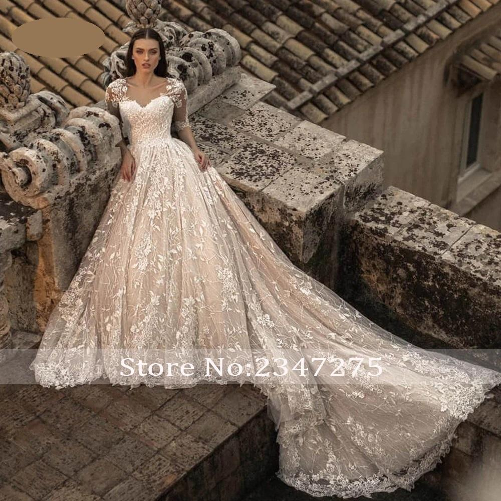 Luxusné svadobné šaty do veľ. 50 - Obrázok č. 4