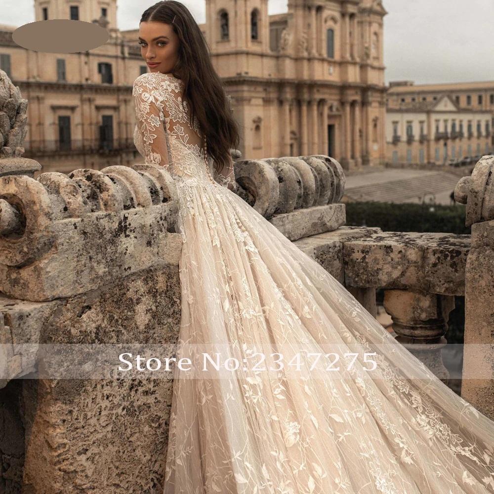 Luxusné svadobné šaty do veľ. 50 - Obrázok č. 3