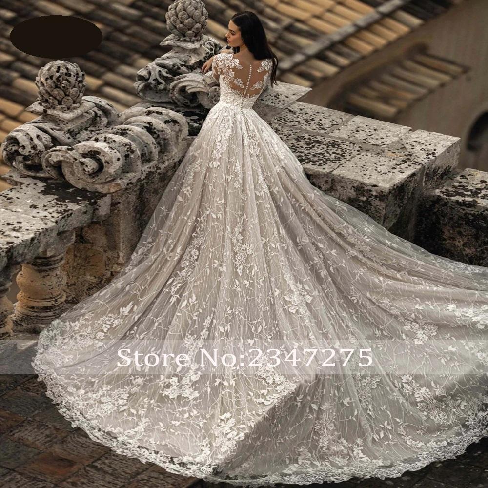 Luxusné svadobné šaty do veľ. 50 - Obrázok č. 2