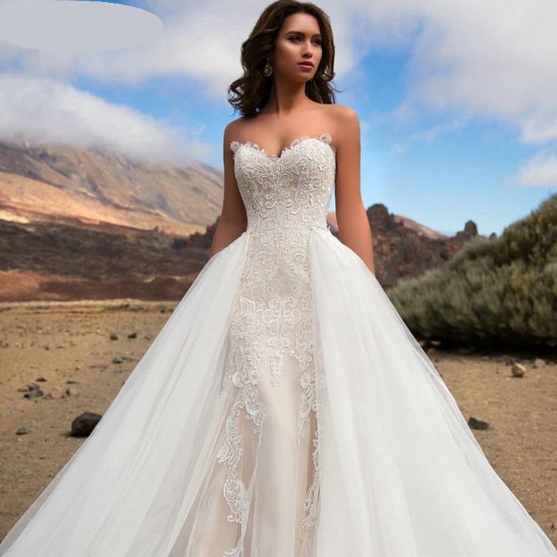 Luxusné svadobné šaty do veľ. 46 - Obrázok č. 4