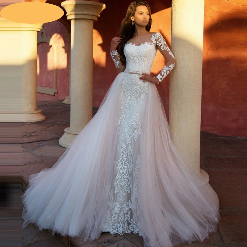 Luxusné svadobné šaty do veľ. 46 - Obrázok č. 1