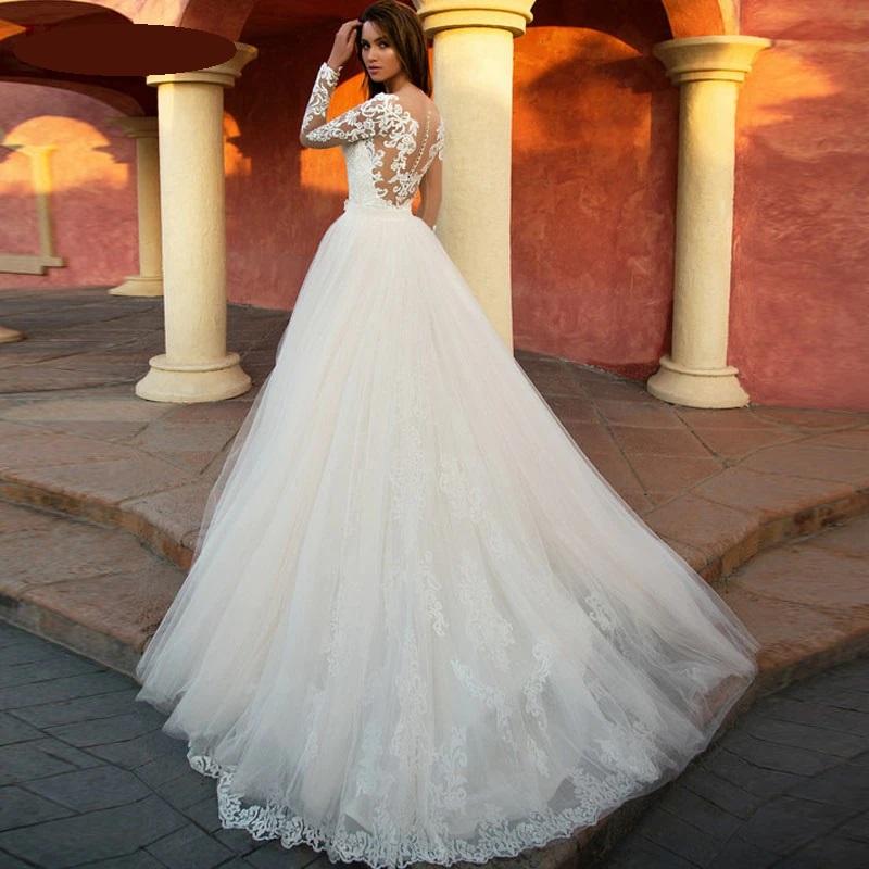 Luxusné svadobné šaty do veľ. 46 - Obrázok č. 3