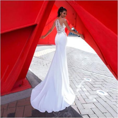Svadobné šaty do veľkosti 54 - Obrázok č. 2