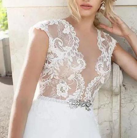 Svadobné šaty do veľkosti 54 - Obrázok č. 3