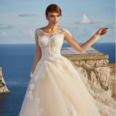 Svadobné šaty do veľkosti 56 - Obrázok č. 4