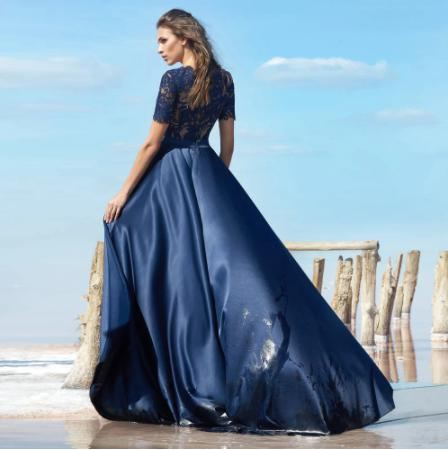 Spoločenské šaty do veľkosti 56 - Obrázok č. 2